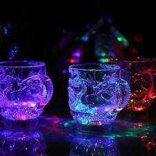 LED Acrylic Water-Induction Flashing Bright Light-Up Cup for Bar Party-Discos
