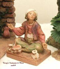 "Fontanini Depose Italy 5""Jordan Spice Merchnt Nativity Villge Figure 52576 Nobx"