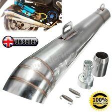 Universal 38-51mm moto Stainelss acciaio scarico Marmitta silenziatore