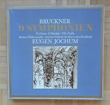 B180 JOCHUM BRUCKNER 9 SYMPHONIES 14 x LP EX LIBRIS STEREO