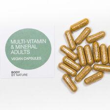 Vegan Multi-Vitamin & Mineral,iron,zinc,B1,B2,B3,B12,D3,B6,Magnesium,Chromium,