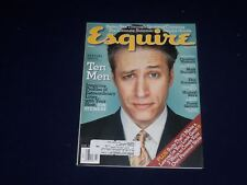 2001 JULY ESQUIRE MAGAZINE - JON STEWART COVER - SP 5349