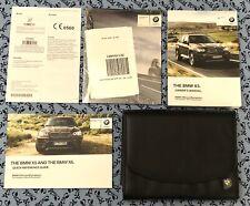 2012 BMW X5 X6 OWNERS MANUAL w NAVIGATION iDrive OEM SET 3.0L V6, 4.4L V8 xDrive