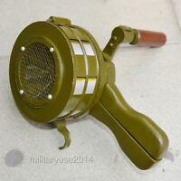 Military Hand Emergency Signalling Apparatus Rare Siren Alertor Surplus