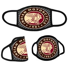 Indian Motorcycle Logo 1 Face Mask 100% polyester