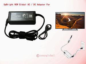 19.5V AC Adapter For Sony KDL-48R510C KDL-48R530C KDL-48R550C ACDP-085E03 Power