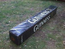 VINTAGE  GUINNESS RUGBY POST PROTECTOR great MAN CAVE ITEM  / DISPLAY