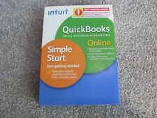 Brand New Intuit QuickBooks Small Business Accounting Simple Start Online 2011