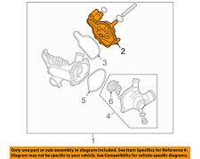 AUDI OEM 07-12 A8 Quattro 4.2L-V8-Engine Water Pump 079121014F