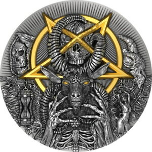 EVIL – GOOD AND EVIL 2 oz Silver Coin 2000 Francs Cameroon 2020