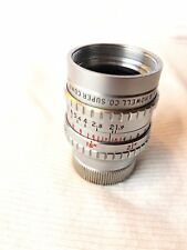 Bell & Howell Co. Super Comat 1 Inch f1.9 in C Mount.