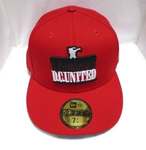 Washington DC United Men's New Era 59FIFTY 7 1/2 Fitted Cap Hat Red