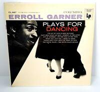ERROLL GARNER - Plays For Dancing 1956 SWING JAZZ Columbia 6-eye MONO (LP)