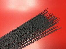 Quille Fibre De Verre noire Pour Flotteurs De Pêche 30x20 cm diamètre 1mm
