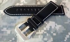 Cinturino orologio 24mm watch strap band (Panerai/Aqualand) strong buckle new