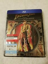Indiana Jones Temple of Doom METALPAK Blu Ray Target SEALED (Like SteelBook)