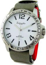 Eichmüller XL Quartz Herrenuhr Edelstahl mens stainless steel watch Tachymeter
