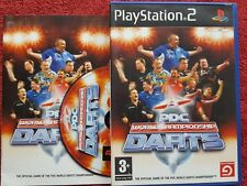 PDC World Championship Darts Original Black Label PLAYSTATION 2 PS2 Pal très bon état