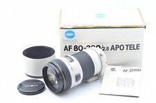 MINOLTA HIGH SPEED AF APO 80-200mm F/2.8 W/Box From Japan!! 79798