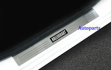 Door sill scuff plate Protector Guards For Mitsubishi Lancer 2008-2017 Ralliart
