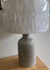White Company Drum Lampshade 42cms New