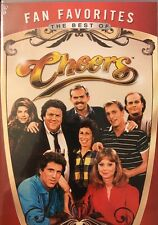 Fan Favorites: The Best of Cheers (DVD, 2012, 8 Episodes)     [BRAND NEW SEALED]