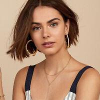 Fashion Women Leopard Resin Acryclic Hook Hoop Drop Dangle Earrings Jewelry