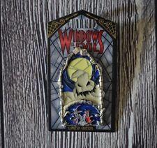 Disney Parks Disneyland Windows of Evil Oogie Boogie Pin NBC LE 2000
