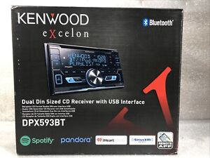 Kenwood Excelon DPX593BT 2 DIN CD Receiver With Bluetooth