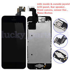 For iPhone 5C LCD Digitizer Touch Screen Assembly + Home Button+ Camera Speaker