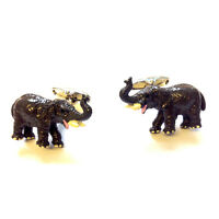 Elephant Cufflinks Zoo African Safari Fathers Day Gift Boxed Cuff links