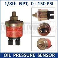OIL PRESSURE SENDER Gauge Meter Sensor 1/8 NPT 150 PSI suits UNIVERSAL SAAS VDO