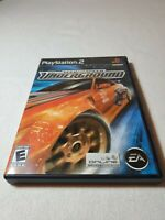 Need For Speed Underground PS2 Game 2003 Electronic Arts Playstation 2