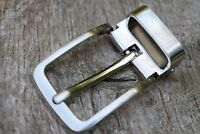 """Replacement Metal Belt Buckle TO FIT 28mm 1 1/8"""" BELT classic Clip On Buckle D"""