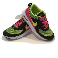 Nike Sneakers Girls Size 13C Neon Green Pink