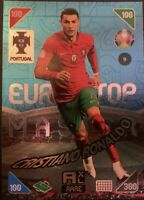 Panini Adrenalyn XL UEFA Euro 2020-2021 Christiano Ronaldo Top Master Rare Card