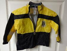 Vintage Boston Bruins Sewn Logo Hockey Light Lined Jacket Youth 4T Mighty Mac