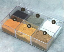 SMC-902  N Scale  6 Color Aging & Weathering Kit w/ Paint Tray & Instructions