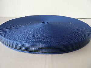 Schlauchband 25 mm, 33 m Rolle blau, Bandschlinge 2100 daN Schlauch Gurt