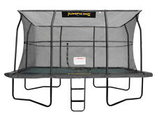 17ft x 12ft Jumpking Deluxe Rectangular Trampoline with Enclosure (JKDR1217B17)