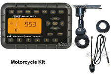 JENSEN JHD910BT Waterproof Motorcycle Bluetooth MINI Radio,Handle Mount & Antenn