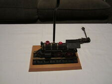 Vintage Cast Iron Train Coin Bank No 50 Engine Made into Table Lamp