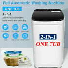 Washing Machine Portable Washer Full-Automatic Home,Compact Laundry Spin Dryer/ photo