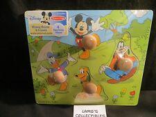Disney Melissa & Doug Mickey Mouse & Friends wooden jumbo knob puzzle easy-grip
