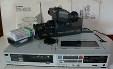 Canon VR-30E 4HEAD Portable Video Recorder + VT-30E Tuner + VC 200 Video Camera