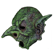 Green Witch Goblin Mask Halloween Classic Horror Monster Scary Movie Costume
