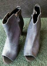 Women's Sandals Blue High Heel  Sz 8.5