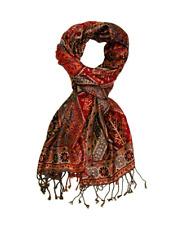 Lorenzo Cana High End Pashmina Scarf Shawl 60% Silk 40% Wool 75'' x 28'' RRP £50