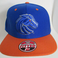 "Boise State Broncos Hat 7 1/2"" Lg Fitted BSU Zephyr NCAA Cap"