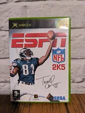 ESPN NFL 2005 Xbox Retro Videospiel original UK Version